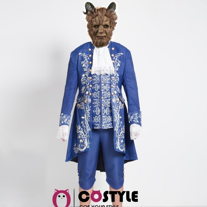 2017 Movie Beauty and the Beast Price Adam Cosplay Costume Outfit