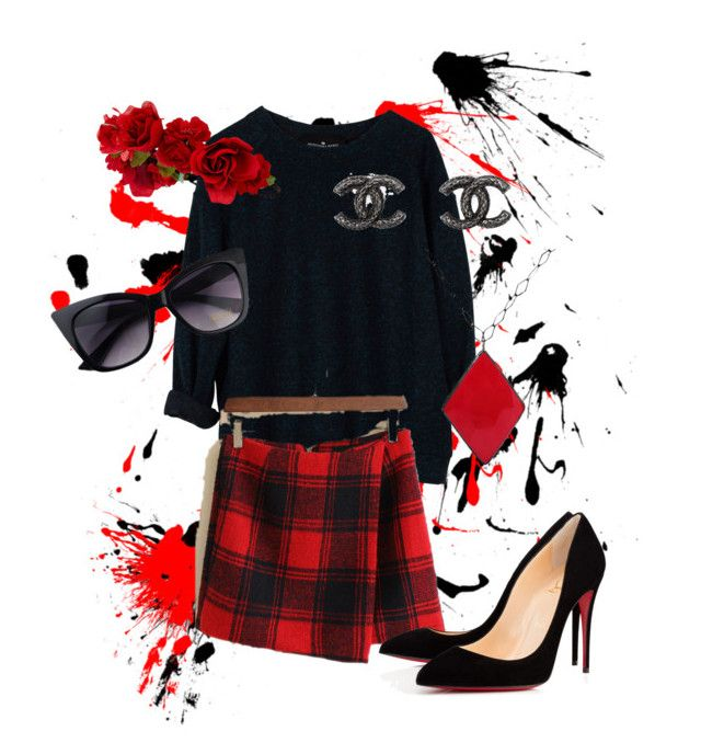 """""""Dressed Up Tartan"""" by eemh on Polyvore"""