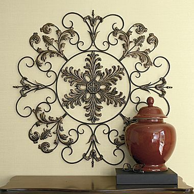 Chris Madden Scroll Wall Grille Jcpenney 36 D Iron Decor Wrought Iron Decor Home Decor