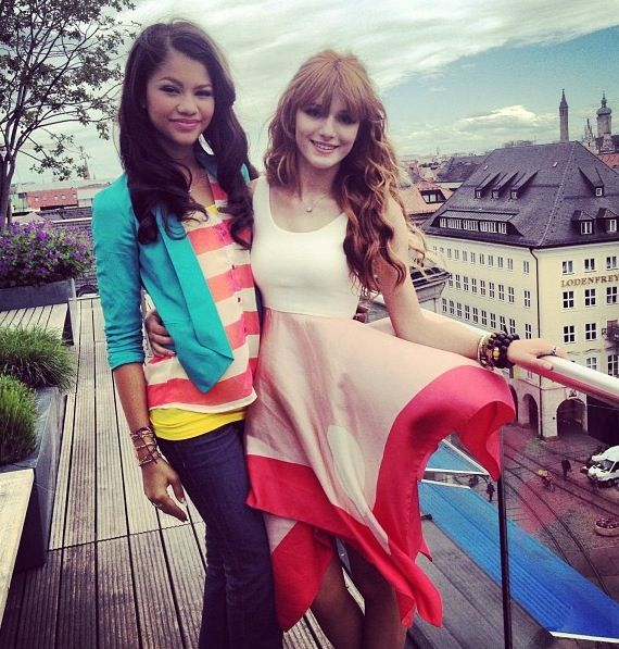 i think both of them are very pretty but if I had to choose I would definently pick zendaya not having to even think