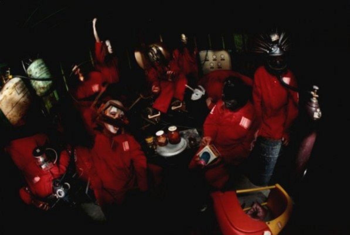 Slipknot Circa 1999 Album cover Session by Stefan Seskis | GIFs