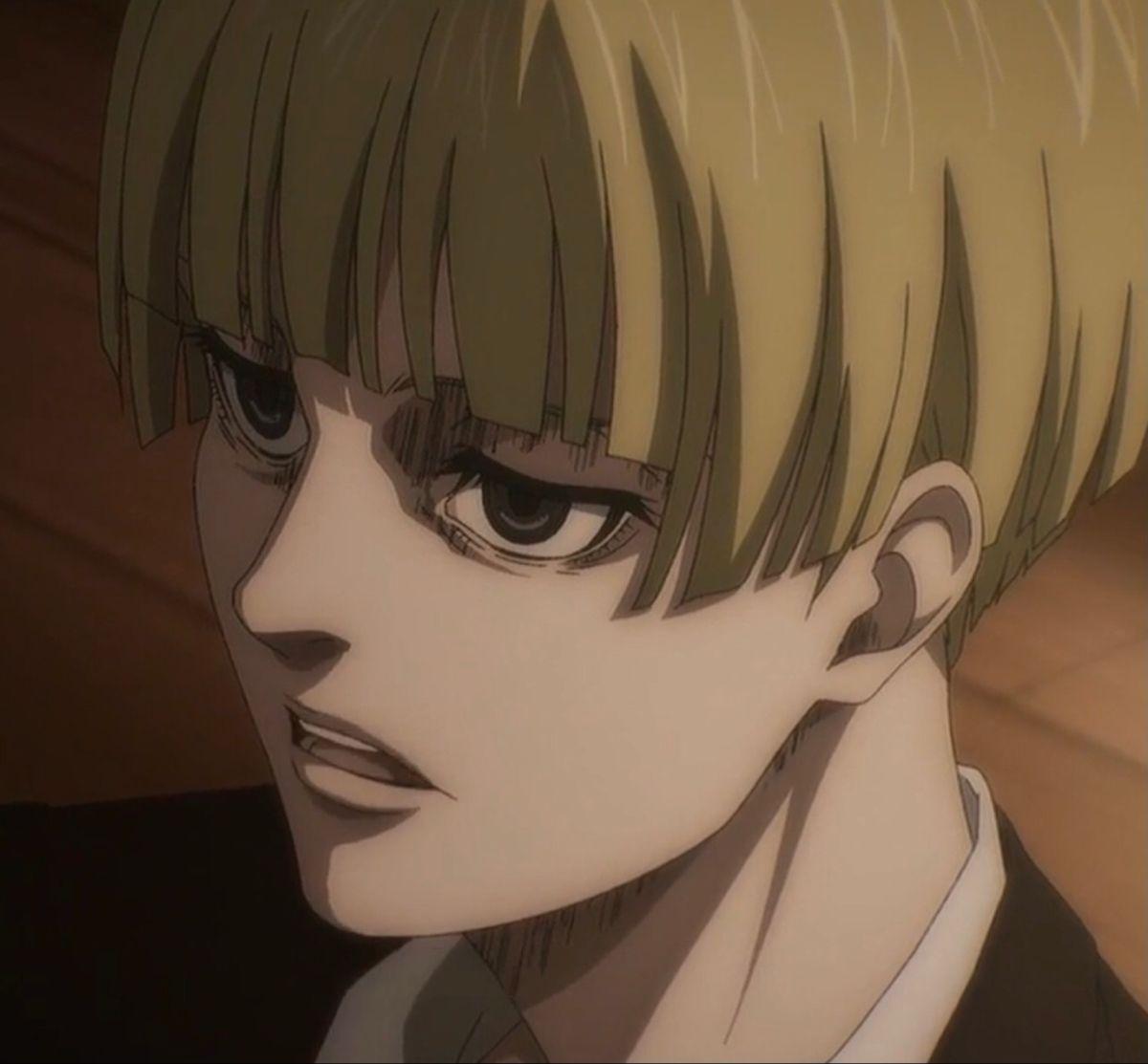 Yelena from the anime, attack on titan; Yelena icon in 2021   Attack on titan anime, Titans anime ...