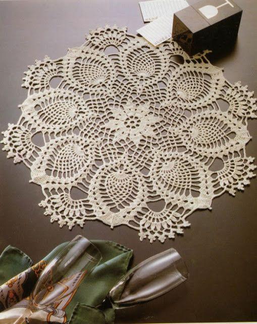 Irish crochet &: DOILY ... САЛФЕТКИ | Mileuri | Pinterest