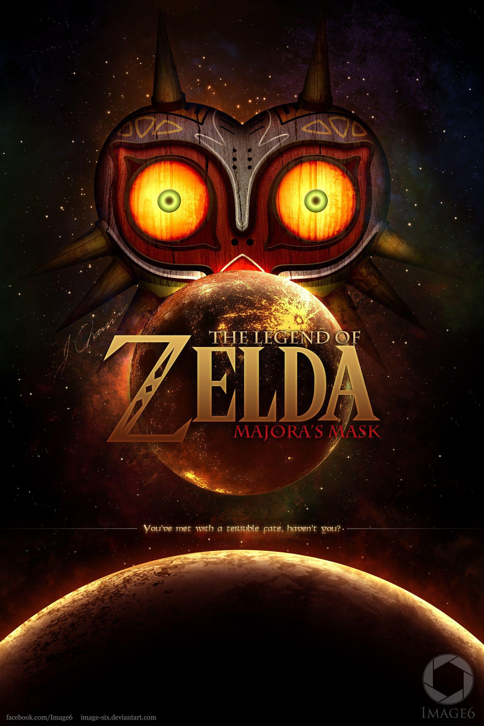 Majora S Mask Fan Poster By Image Six On Deviantart Fan