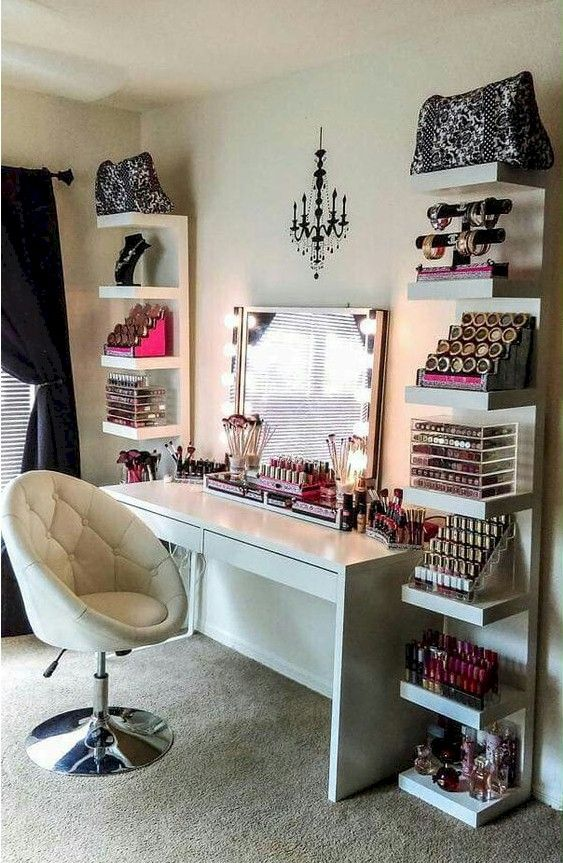 Makeup Room Ideas Makeup room DIY (Makeup room decor