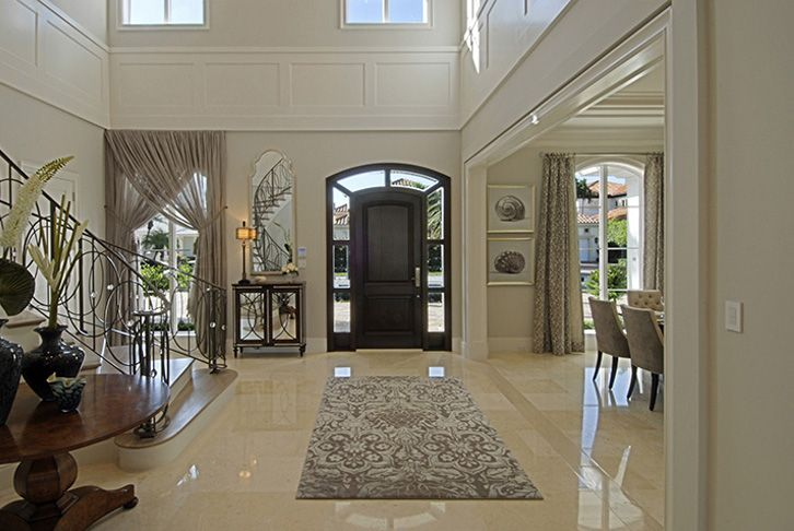 Double Height Entrance Foyer