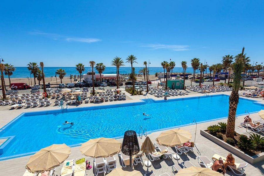 Clubhotel Riu Costa Del Sol Pool All Inclusive Hotel In Torremolinos Spain