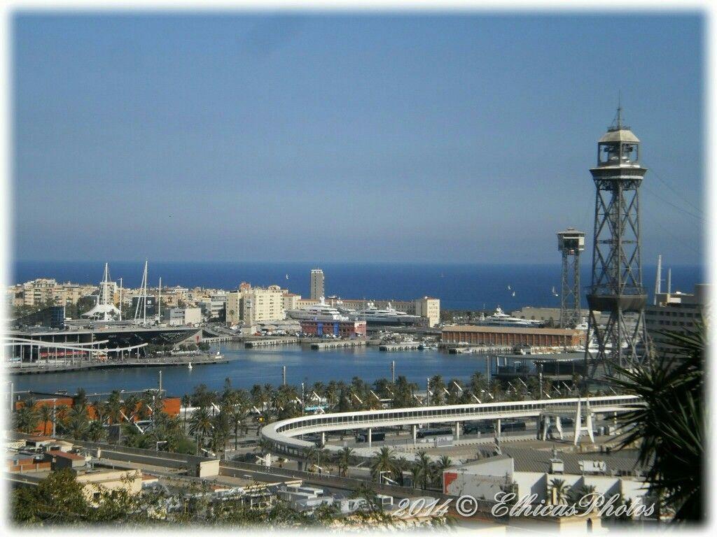 Vista de Barcelona desde Montjuïc.