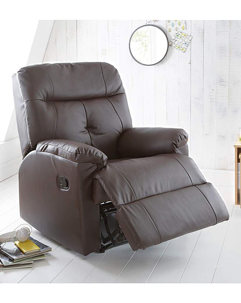 Admirable Boston Faux Leather Recliner Chair Products Leather Gamerscity Chair Design For Home Gamerscityorg