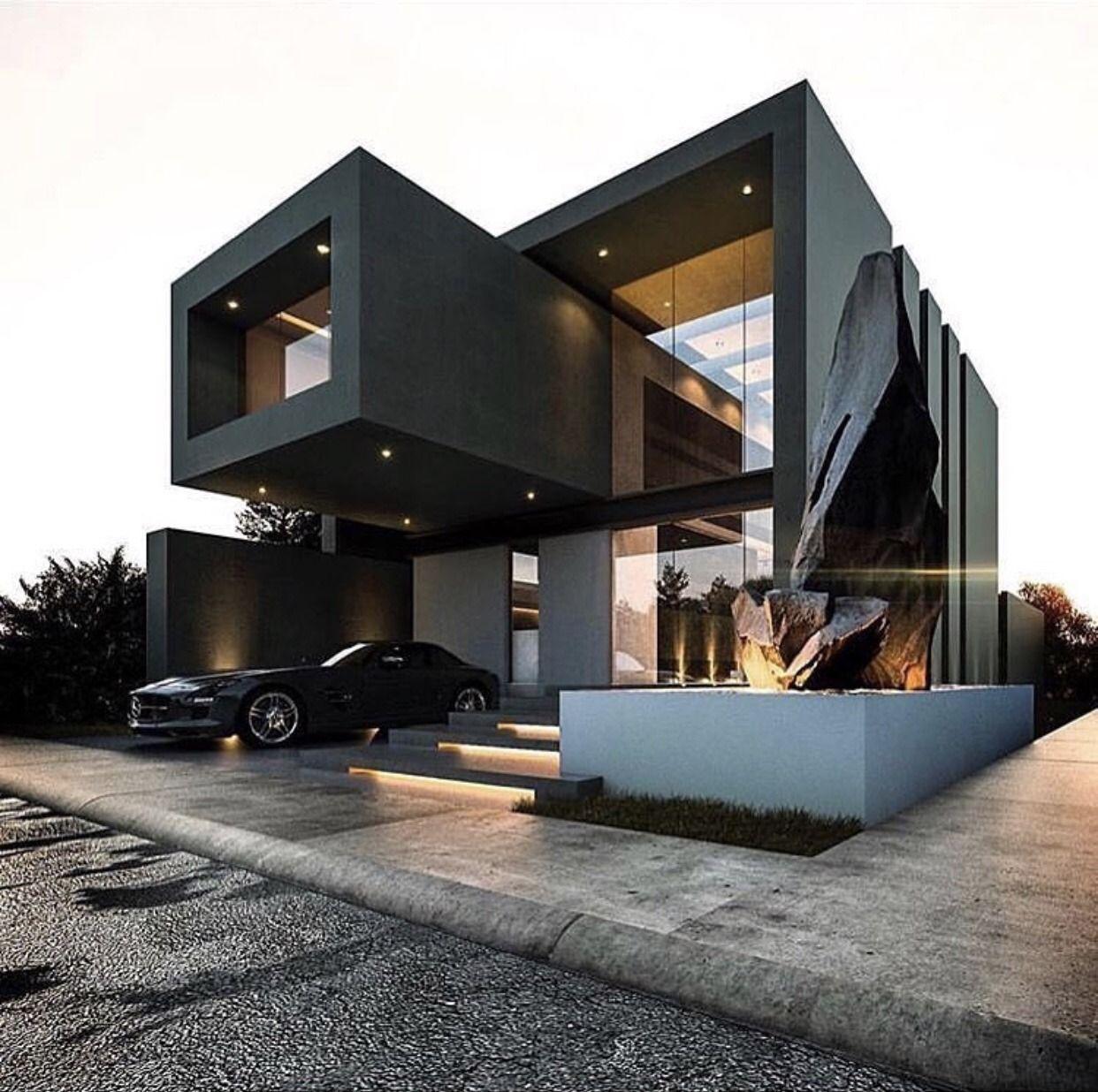 "Minimalist Exterior Home Design Ideas: Youngsophisticatedluxury: """" "" "" Sophisticated Luxury Blog"