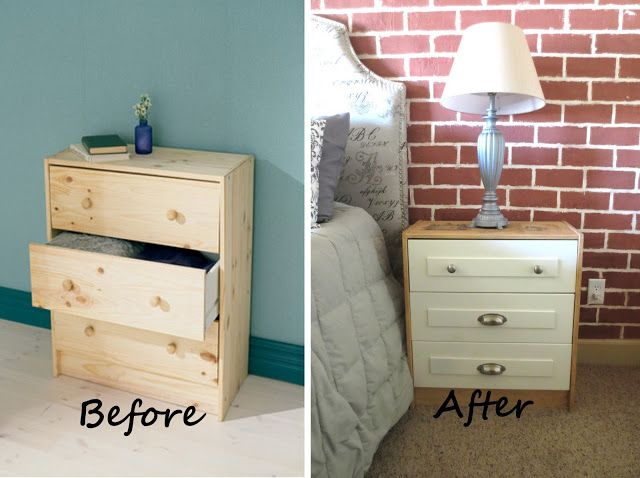 Mi Amour Boutique: Ikea Rast hack.  Easy way to transform an affordable piece from Ikea.