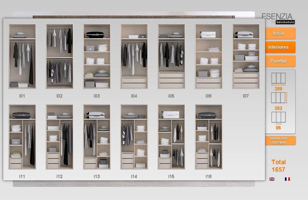 Armarios interiores dise o buscar con google armarios empotrados pinterest - Armarios empotrados interiores ...