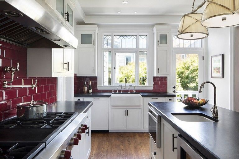 28 Best Small Kitchen Ideas And Designs For 2018 Small Space