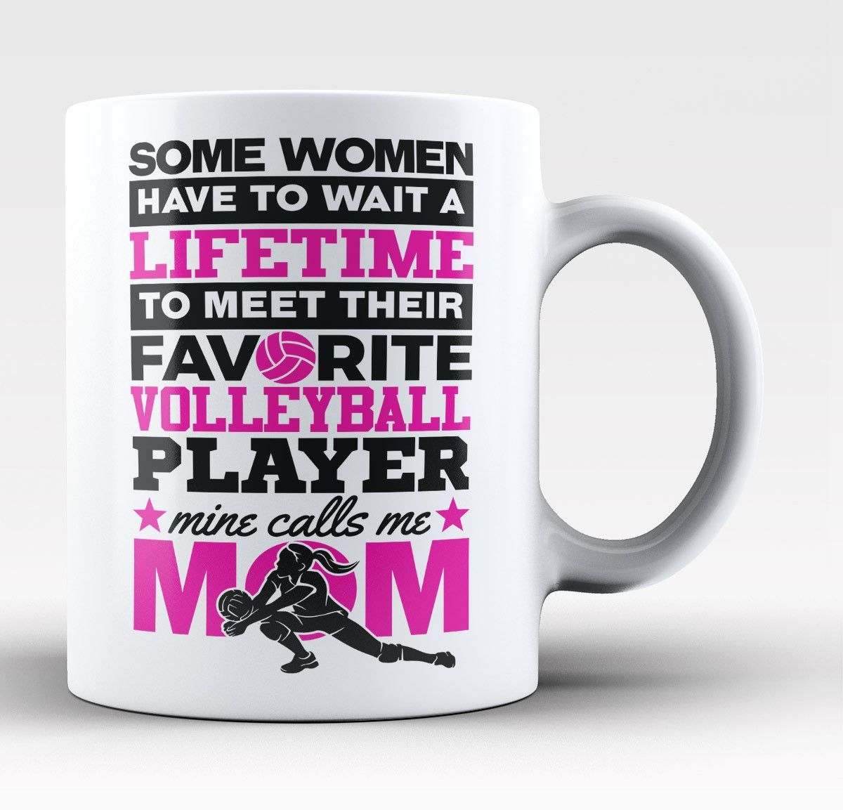 Favorite Volleyball Player Mine Calls Me Nickname Personalized Mug Water Polo Water Polo Players Call My Mom