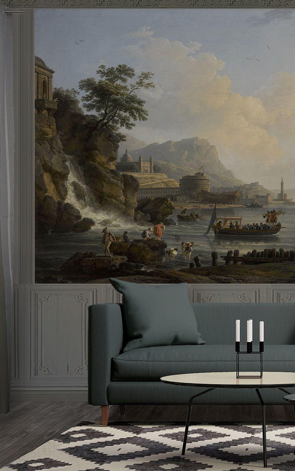 Papier Peint Panoramique Paysage papier peint panoramique réalisé d'après l'oeuvre de joseph
