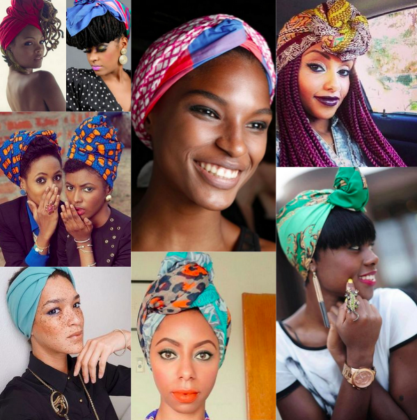 How To Rock Turbans Headwraps Scarfs Clutch Magazine Now That My Hair Is Unmanageable At Any But Too Short Length And Face Pale Needs The