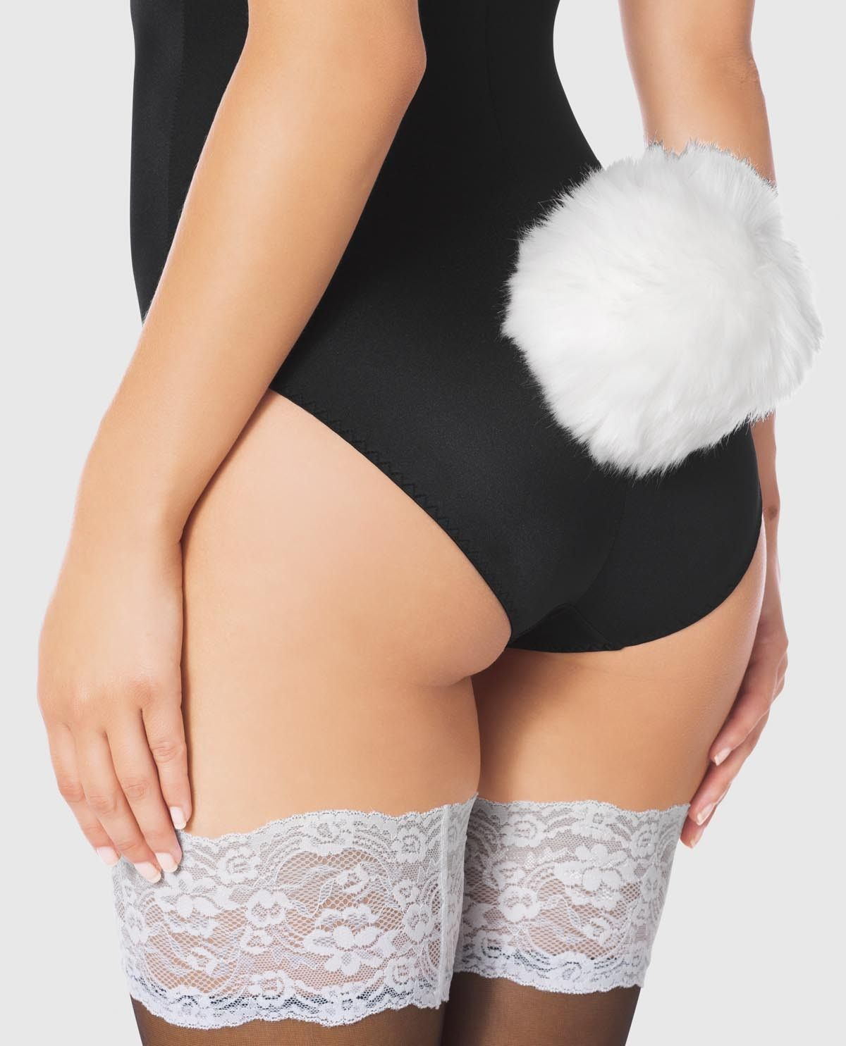 6578b634a5586 This bunny accessory is the perfect addition to your sexy costume. Soft    fuzzy