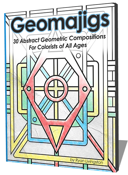 Geomajigs: The Geometric Abstracts Coloring Book