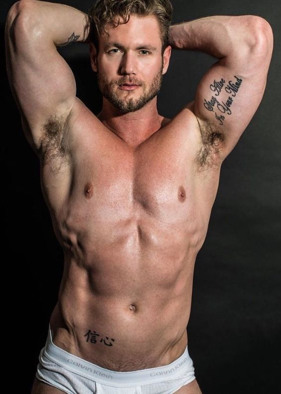 from Camron pose hot muscle gay