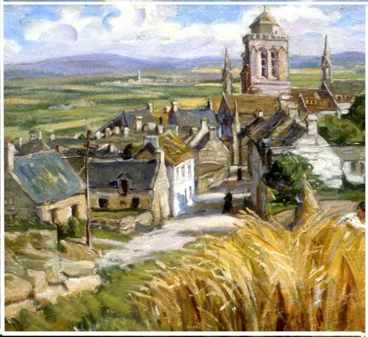 concarneau et ses peintres peintres fran ais emmi leuze hirschfeld peinture les bretons et. Black Bedroom Furniture Sets. Home Design Ideas