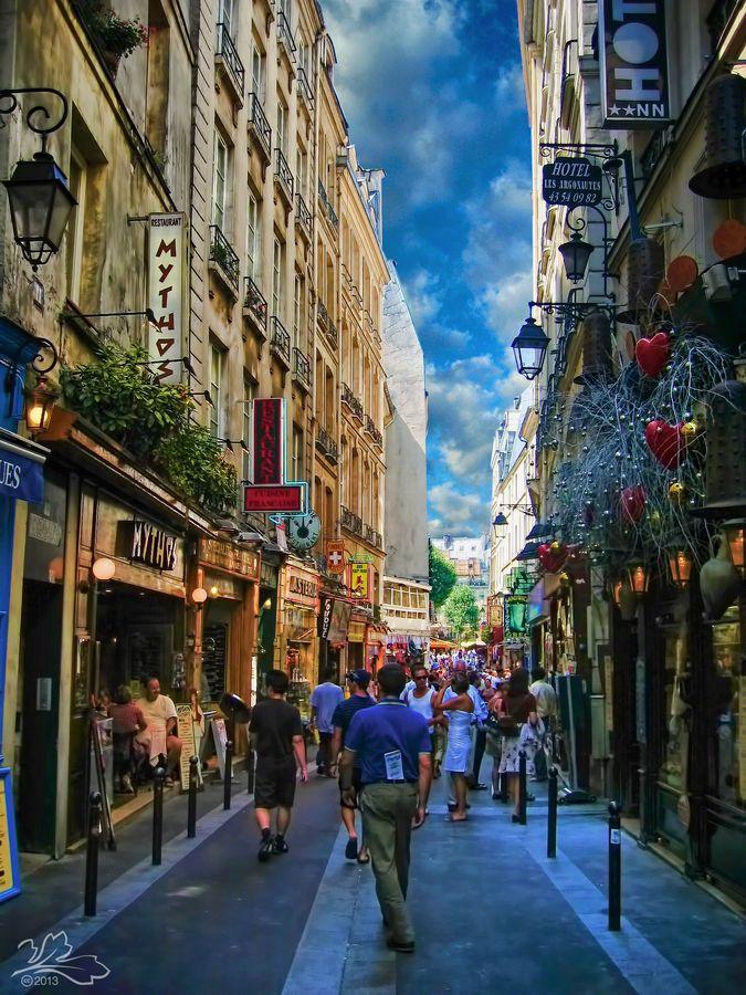 Day 8 - Paris, France - The Latin Quarter **Rue de la Huchette
