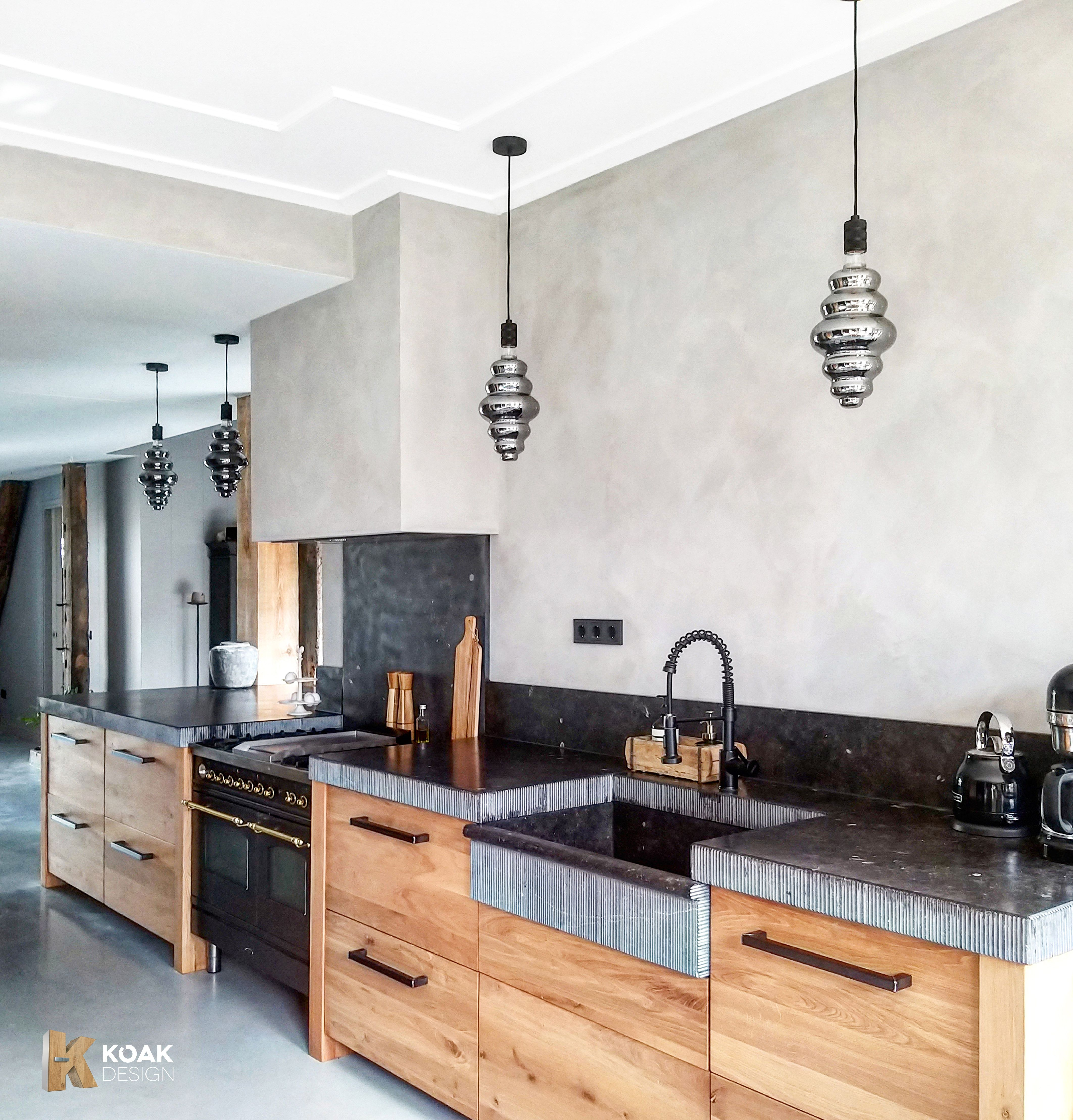 Koak Design Maakt Fronten Voor Ikea Keukens Metod Van Echt Hout Landelijke Keuken Keukenstijl Gerenoveerde Keuken