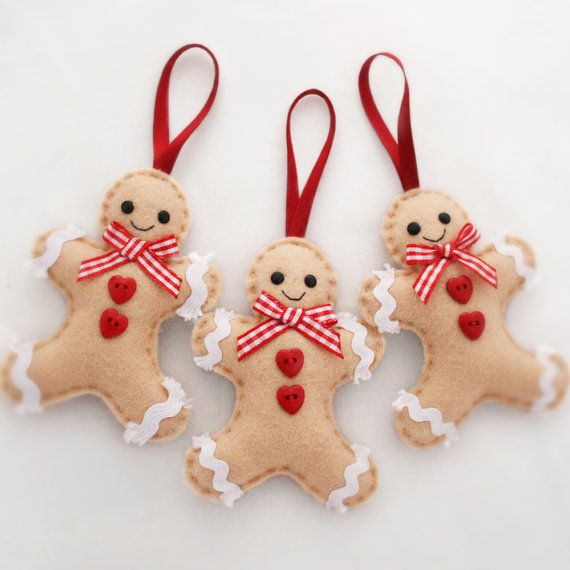 diy gingerbread themed ornaments - Google Search