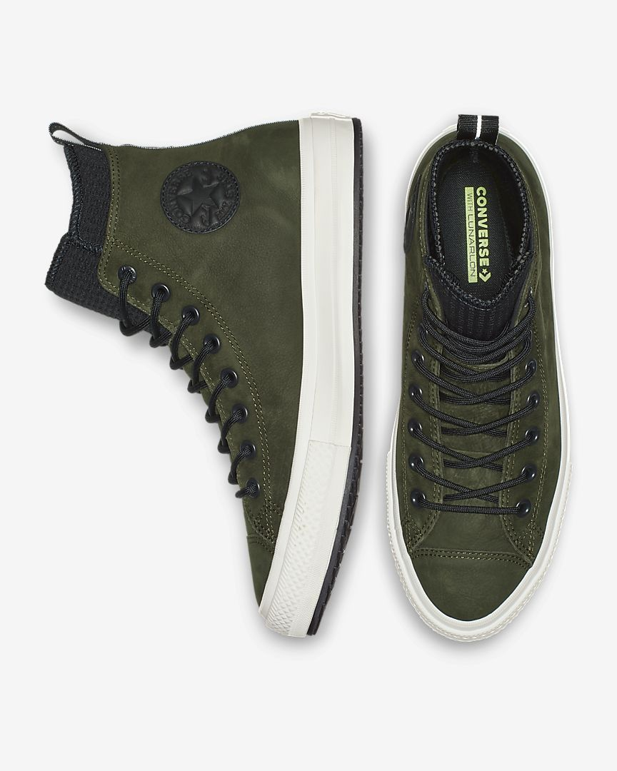 9356b9a35a29d Converse Chuck Taylor All Star Waterproof Leather High Top Boot Unisex  Leather Boot