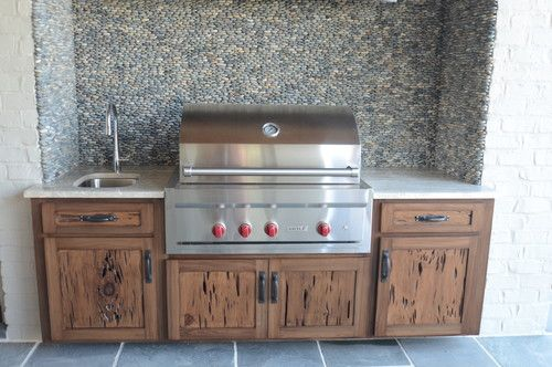 Have You Ever Imagine Having An Outdoor Kitchen Cabinets Artistic Used Wooden Outdoo Outdoor Kitchen Cabinets Outdoor Kitchen Kitchen Room Decorating Ideas