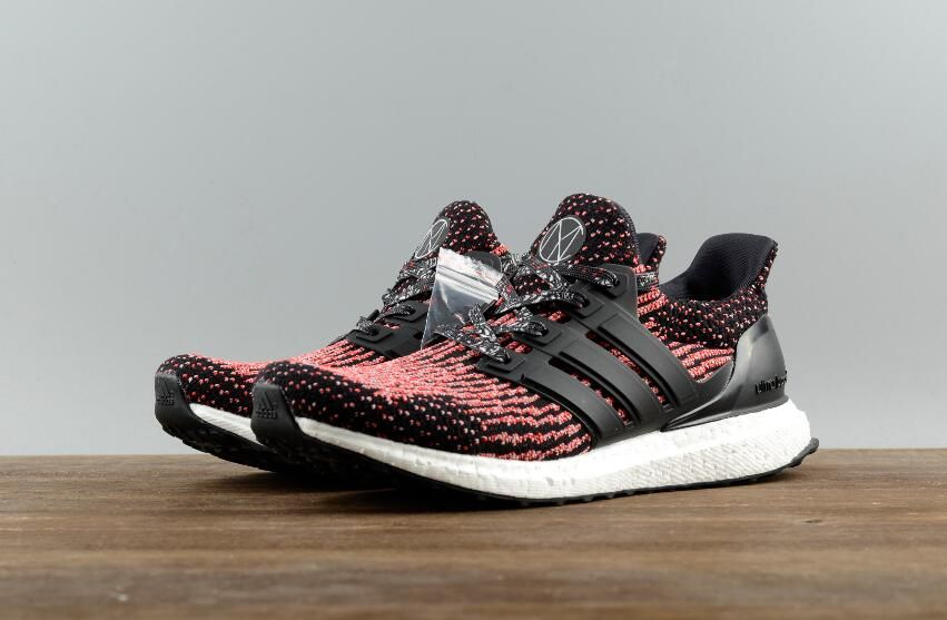4924ec54070c Fress Shipping Original Adidas Ultra Boost 3.0 Real Boost Red Black BB3521  for Online Sale 08