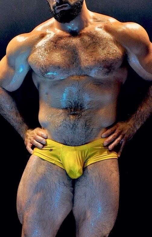 Hot gay muscle massage