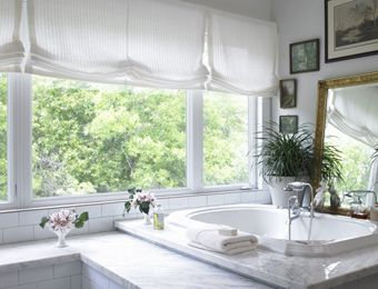 Bathroom Window Blinds And Shades sheer roman shades - google search | window treatments | pinterest