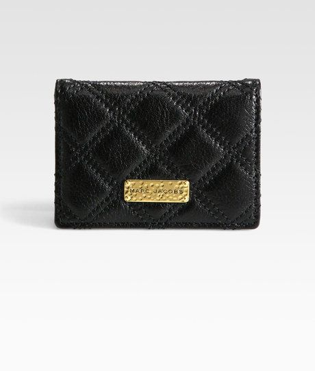 5c9b040c0640 Jacob Black · Cosmetic Case · Card Holder · Marc Jacobs · Wallets · Rolodex  · Purse · Train Quilted Card Holder - Lyst