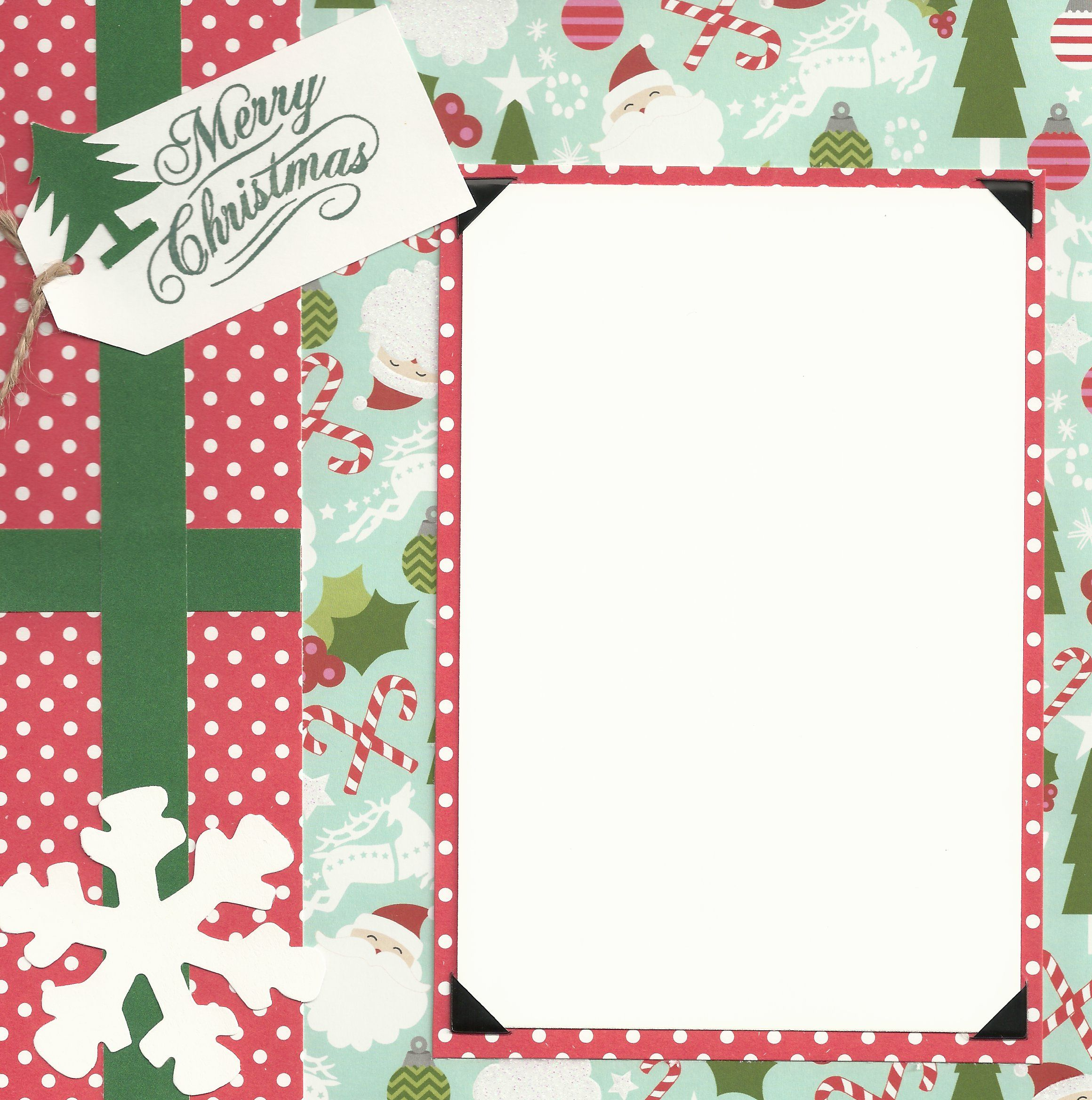 Baby scrapbook page ideas - Baby Scrapbook Page Ideas 8x8 Pages Christmas