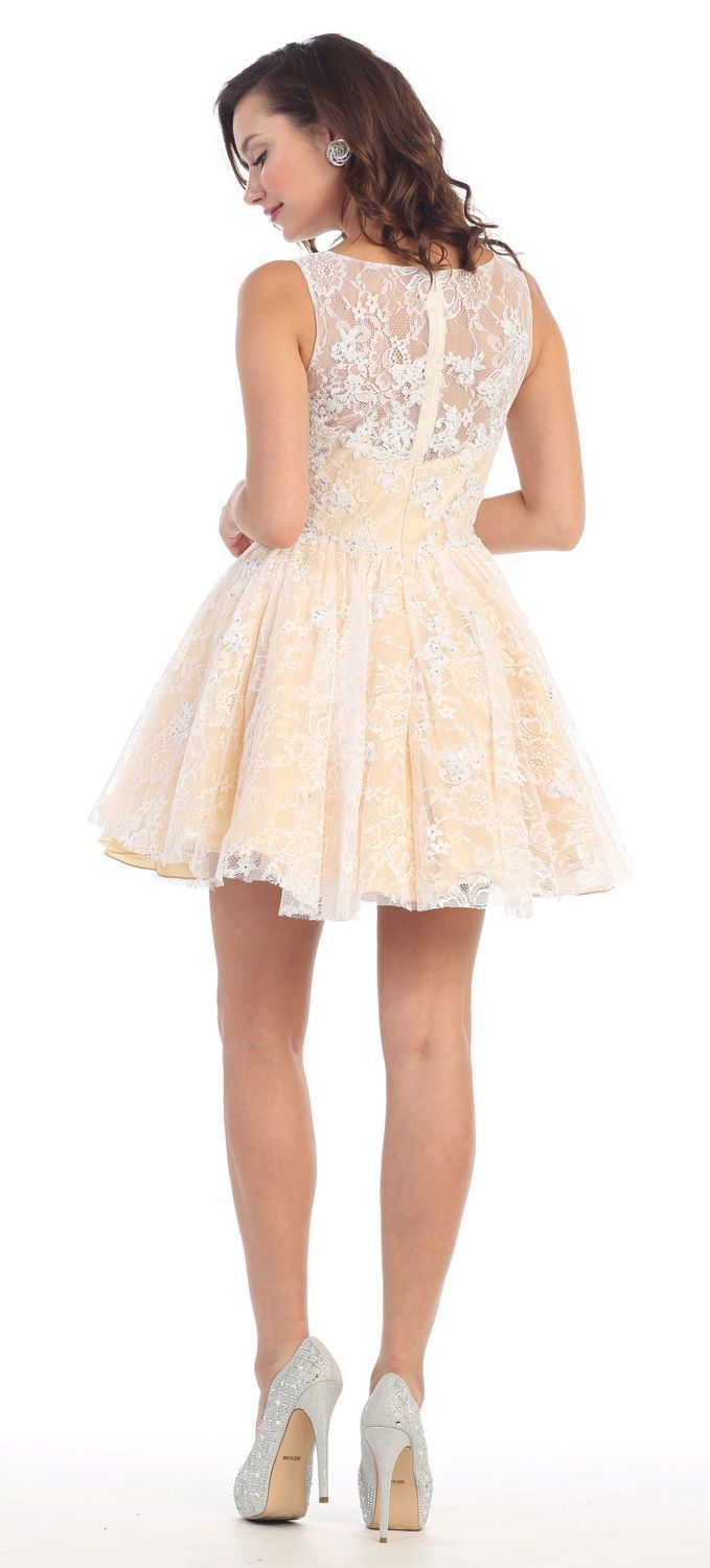 Short Homecoming Prom Dress 2018