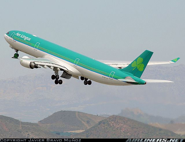 Aer Lingus A330-300  JFK-DUB