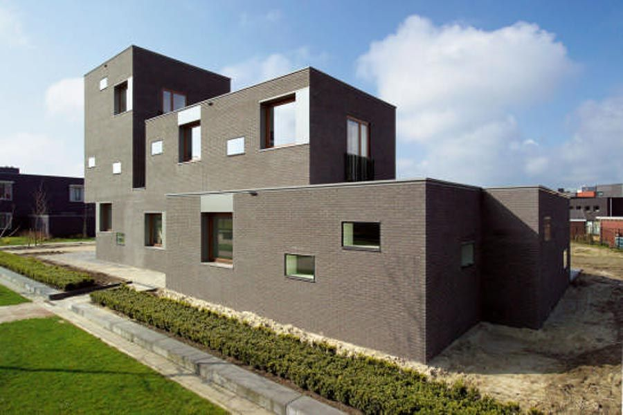 Brick Contemporary House Designs Brick Pinned by