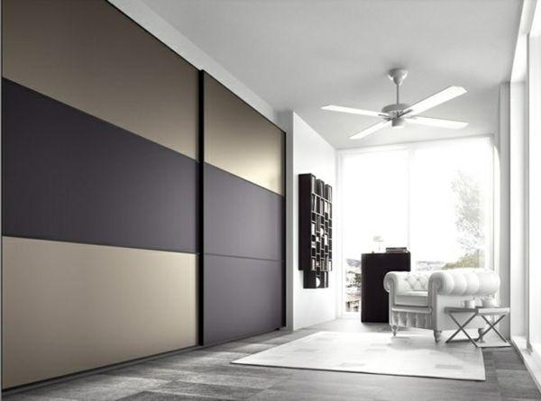 L\u0027armoire dressing dans la chambre à coucher moderne Modern and - porte d armoire coulissante