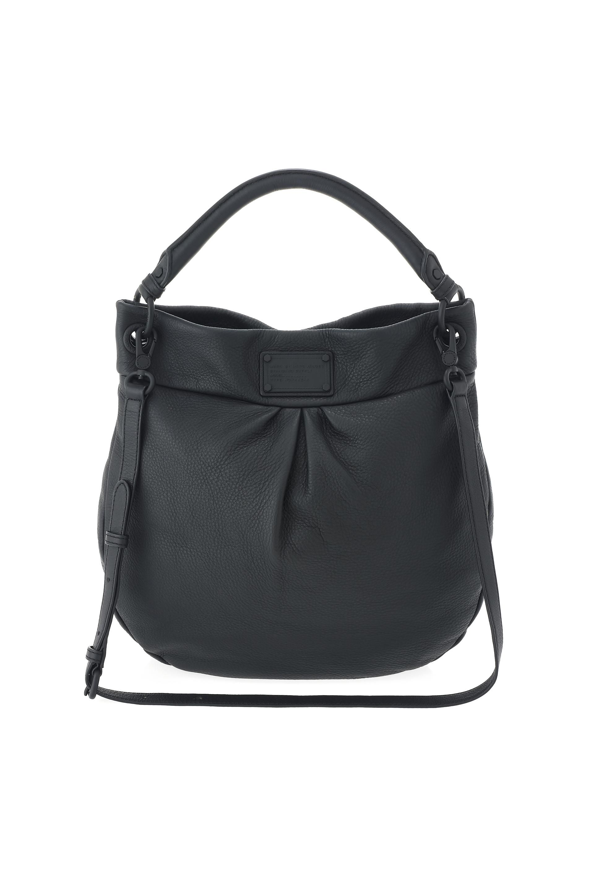 7a1953cc24 Marc by Marc Jacobs Electro Q Hillier Hobo in Black - the Classic Q gets an  electric makeover for Fall  14!