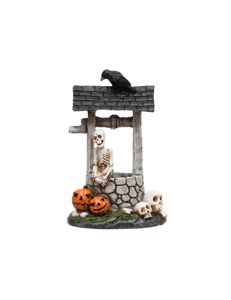 Michaeks 2020 Halloween Miniatures Mini Skeleton in Well by Ashland® in 2020 | Halloween diorama