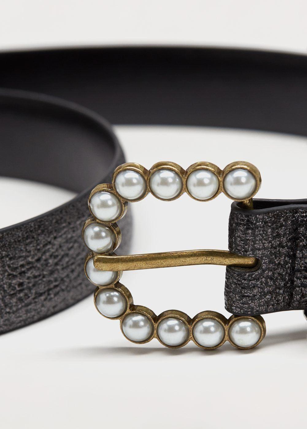 Cinturon Hebilla Perlas Tallas Grandes Cinturones Cinturones