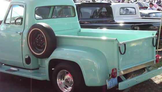 Mint Green Truck With Images Vintage Pickup Trucks Classic