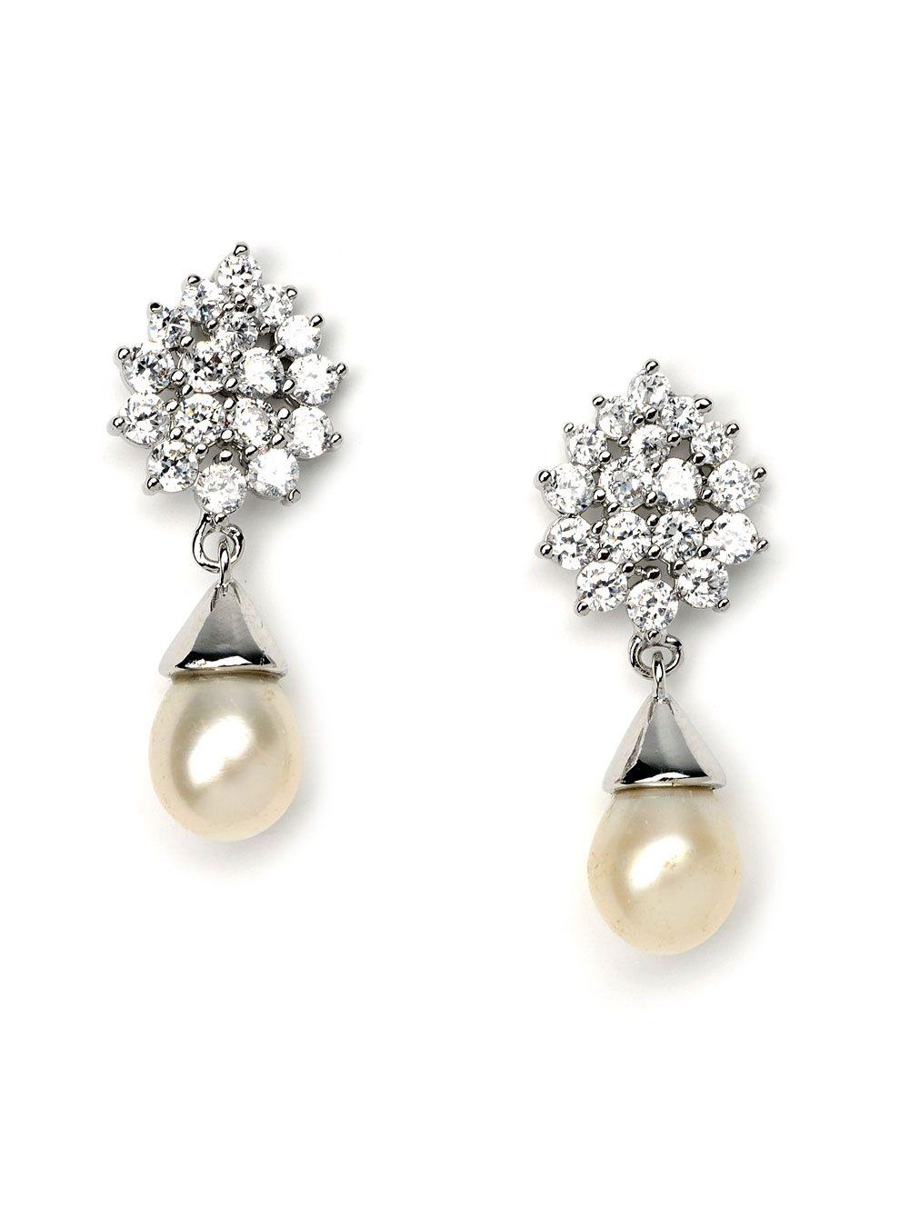 25++ Pearl drop earrings bridal ideas