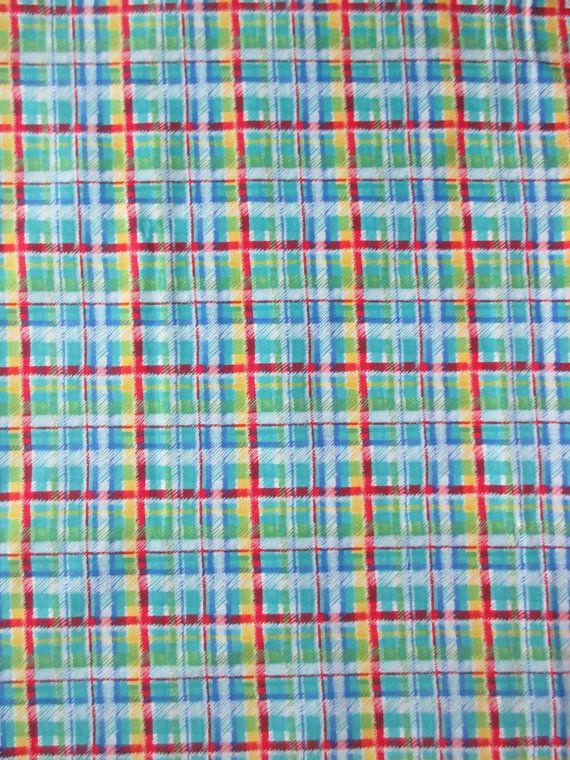 Plaid Fabric - Lisa McCue for SSI - Children - Fuzzytail Kittens