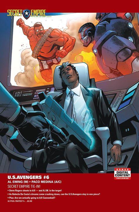 Steve Rogers dispara para matar y A.I.M. Es el objetivo!  A medida que los sueños de Roberto Da Costa se derrumban pueden los U.S.Avengers permanecer en una sola pieza?  Además: Vamos a matar a Cannonball? - http://ift.tt/1HQJd81