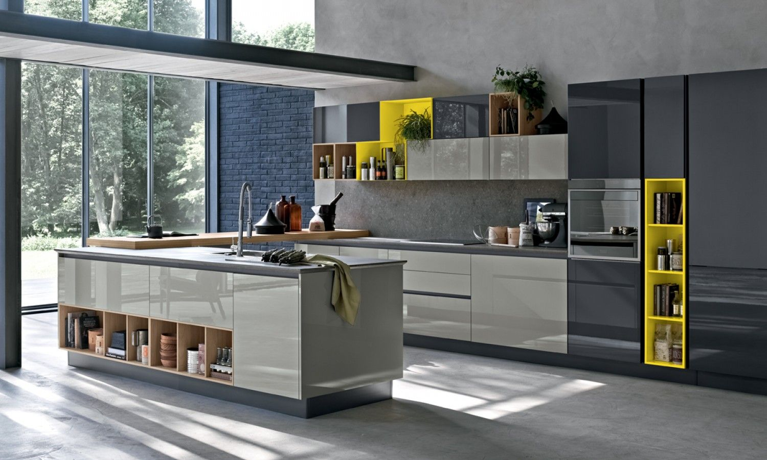 Stosa cucine pinterest interiors kitchens and for Italian design mobili