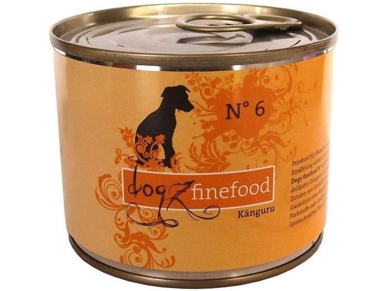 Dogz finefood No. 6 Hundefutter mit Känguru