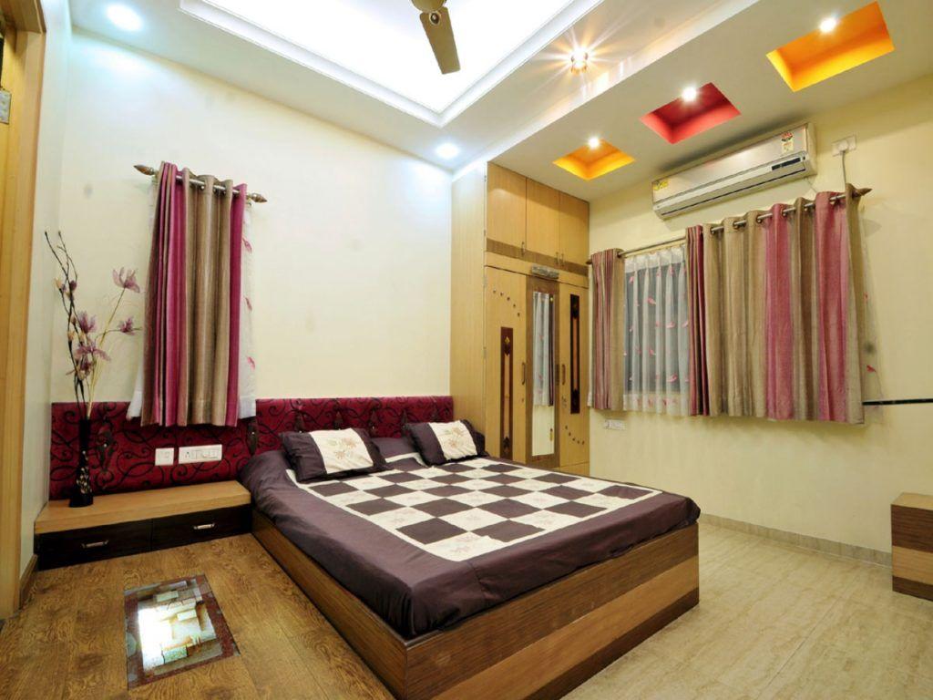 Modern Fan Lights Master Bedroom False Ceiling Designs ...