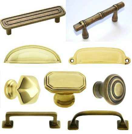Attractive Kitchen Cabinets Ideas Antique Brass Cabinet Handles 17 Best Images About