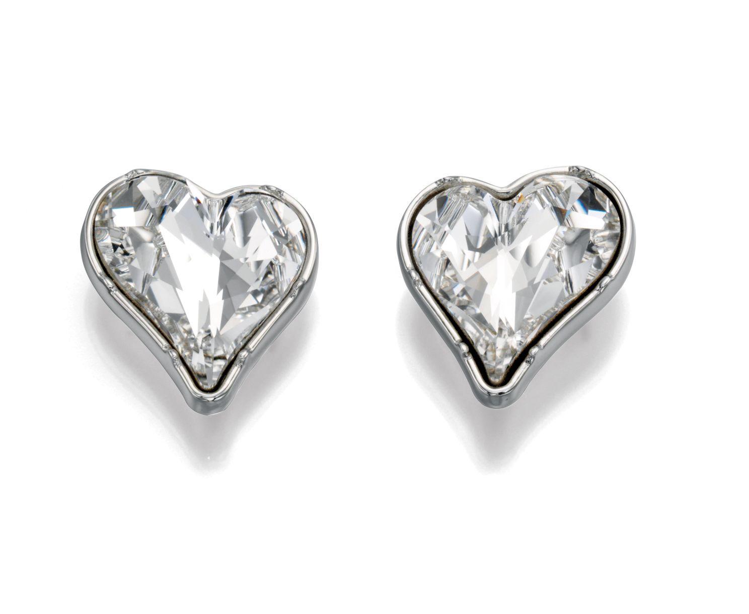 Paradisco - Zali Swarovski Elements Heart Earrings